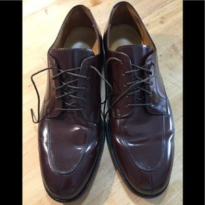 Cole Haan Classic Brown Leather City Lace Up 10.5